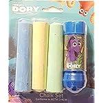 Finding Dory 4 Piece Chalk Set - 1 Chalk Holder & 3 Pieces of Jumbo Chalk