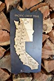 Pacific Crest Trail Wood Map