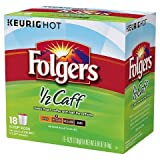 Folgers Half Caff kcup 18ct TRG