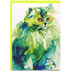 Rainbow Card Company Caustic Cats Greeting Card - Luci Furr