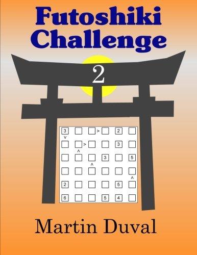 Futoshiki Challenge 2 pdf epub