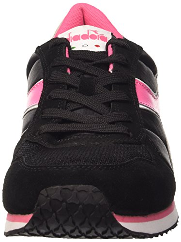 Nero Mixte K Chaussures Limonata Diadora Rosa Adulte Run XwxUCq7