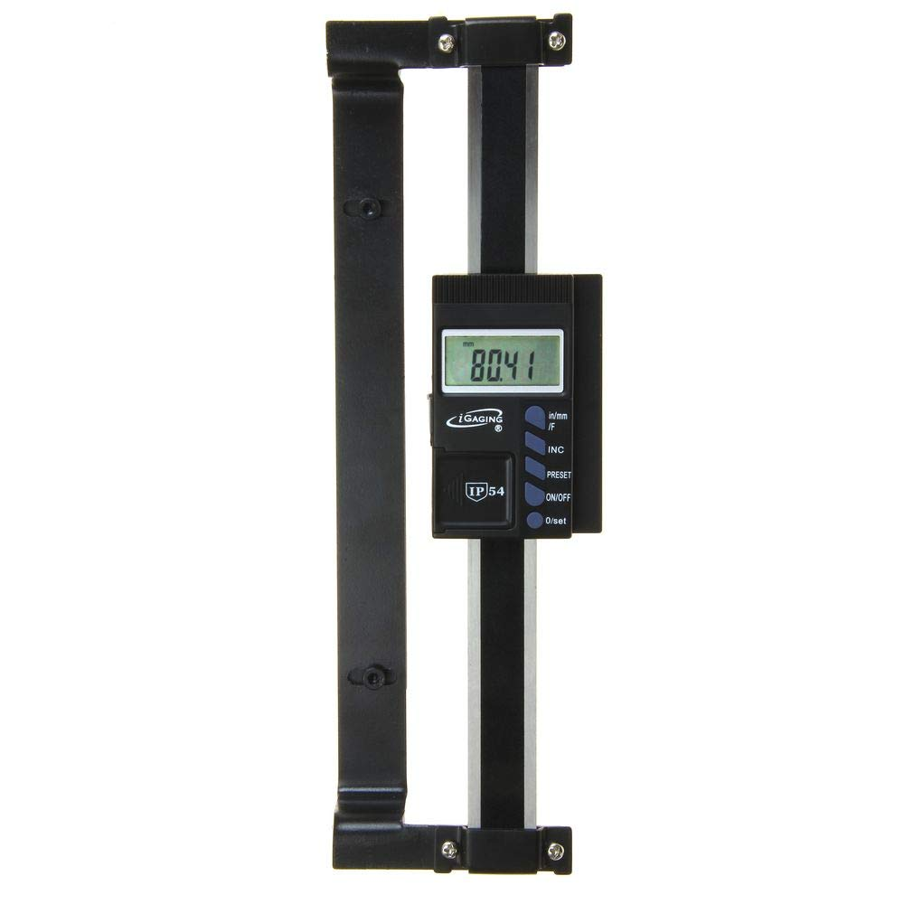 """iGaging Absolute DRO Digital Readout 6/""""//150mm Read Out Stainless Steel Beam"""