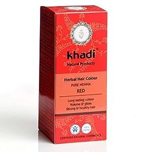 Henna natural 100% pura y ecológica. 100 gr. Certificación cosmética ecológica BIDH
