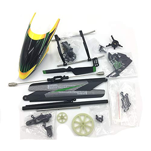 Zehui WLtoys V912 RC Helicopter Spare Parts Replacement Accessories Bag KV912-001