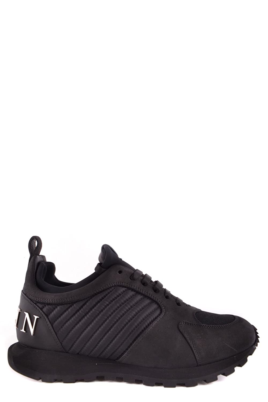 Philipp Plein メンズ MSC0776PLE067N0291 ブラック セーム 運動靴 B07DXK8SG7