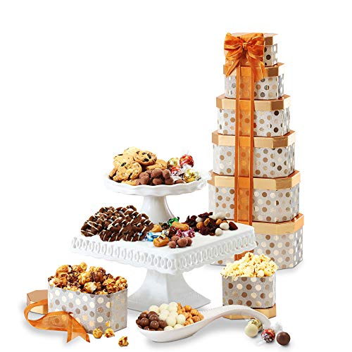 Broadway Basketeers Thinking of You Gift Tower with an...