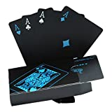Waterproof Poker Cards Black PVC Playing Cards Set Professional Poker Poker Deck Top Quality Plastic Poker For Your Poker Pleasure (HOT)