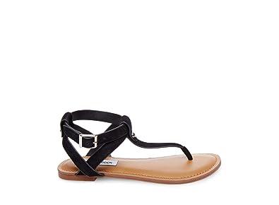 af0497c7ee9 Steve Madden Women s Hidden Black Nubuck Sandal ...