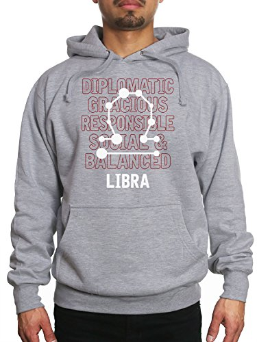 Young Motto Men's LIBRA TRAITS Hoodie