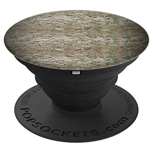 (Tactical U.S. Military Camouflage Pattern Modern Design - PopSockets Grip and Stand for Phones and Tablets)