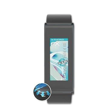atFoliX Protecteur décran Convient pour MyKronoz ZeFit 4 HR Film Protecteur, Ultra Clair