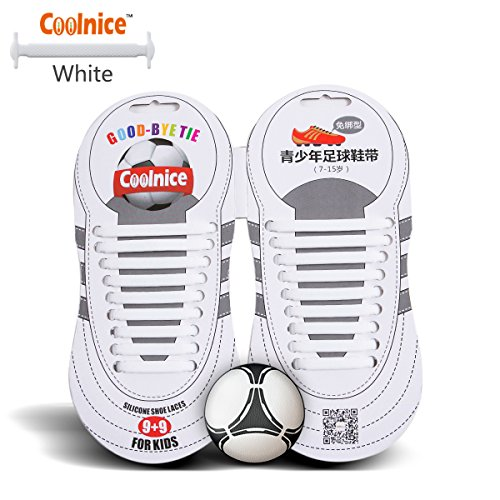 [Elastic No Tie Shoelaces by Coolnice Silicone Shoestrings pair(18pcs) for Teenagers Outdoor Sports shoe laces for running shoes, training shoe, sneaker -color of] (Pregnant Basketball Costume)