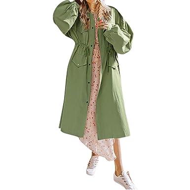 Mantel Damen Frauen Npradla 2018 Jacke Oberbekleidung oxdCreB