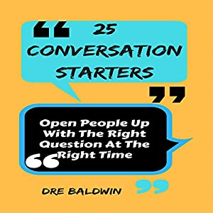 25 Conversation Starters Audiobook