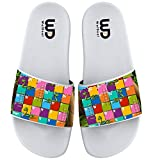 Board Game Snake And Ladder Summer Slide Slippers For Girl Boy Kid Non-Slip Sandal Shoes size 1