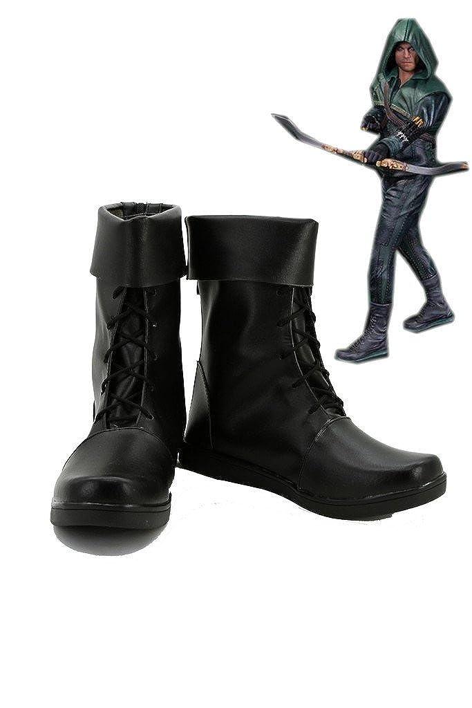fasyla hombre zapatos de alta calidad Green Arrow Oliver ...