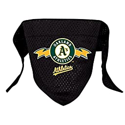 Hunter MFG Oakland Athletics Mesh Dog Bandana, Small