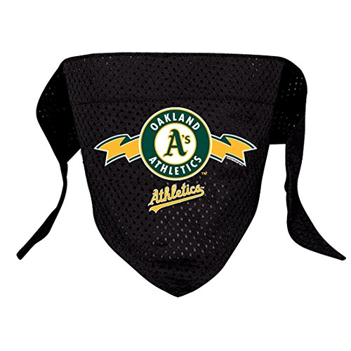 Hunter MFG Oakland Athletics Mesh Dog Bandana, Large