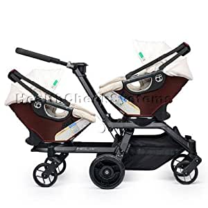 Amazon.com : Orbit Baby Helix G2 Double Stroller with 2 ...