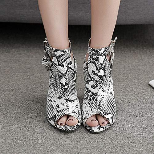 Féminine Femme Hauts Hauts Talons Talons Sandals , Avec Gladiateur Zyueer Serpentine Bandoulière Anti Mode Slip T0wqBfB