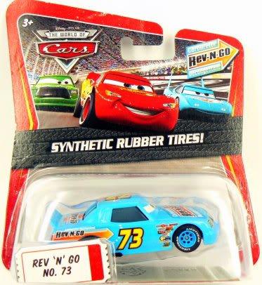The South Diecast Car (Disney / Pixar CARS Movie 1:55 Die Cast Car Motor Speedway of the South #73 Rev-N-Go)