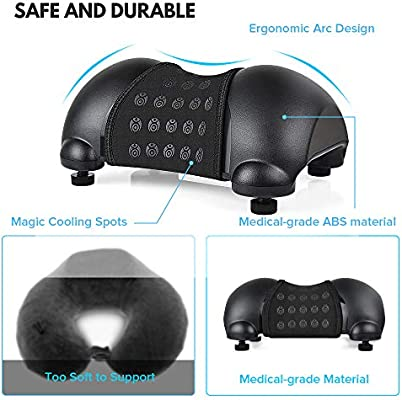 Cervical Neck Traction Device, Portable Cervical Orthotic Pillow for Neck and Shoulder Pain Relief and Relaxation at Home