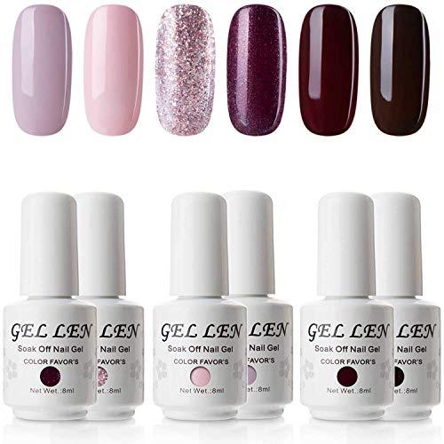 gel nail polish colors gelish - 3