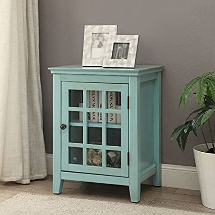 Linon Home Largo Single Door Cabinet