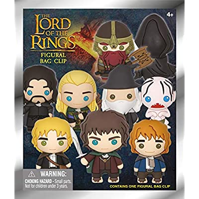 Warner Bros. Lord of The Rings - 3D Foam Collectible Bag Clip in Blind Bag: Toys & Games