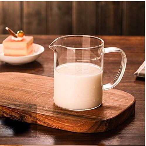 SMXGF Transparent Coupe de mesure avec échelle Coupe en verre Mesureur Verre Mesureur Cuisine Mesureur 240ml outil de cuisson, 350ml, 1000ml Home Essentials (Size : 1000ml)