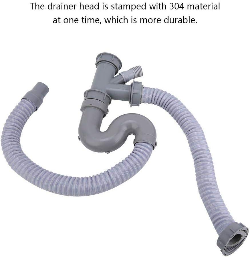 Kitchen Sink Drain Waste Trap Pipe Bathroom Basin Srainer Kitchen Drain Stopper