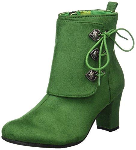 199 Hirschkogel para Verde Mujer 3612711 Botas Grasgrün WScqFaW