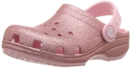Fit Crocs Plata De Niña Roomy Rosa Brillo 205441 Zapatillas Goma vqRSx1w5qr