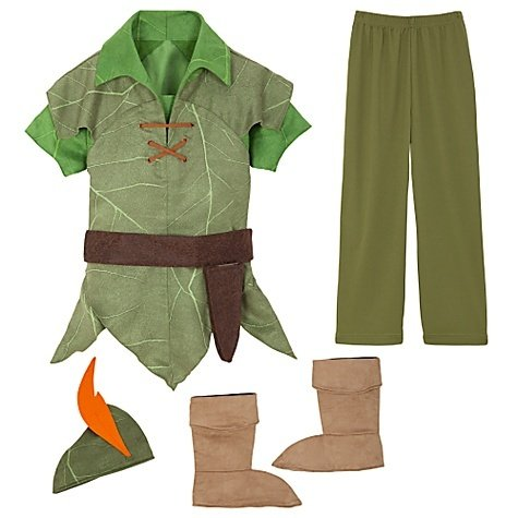 Disney Store Peter Pan Costume Size XXS [ 2 / 3 ] for Toddler boys 1 - 3 years old (Toddler Peter Pan Costume compare prices)