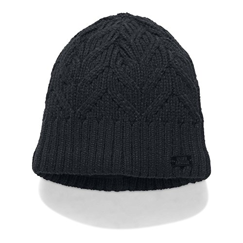 Under Armour Women's Around Town Beanie, Black/Black, One Size