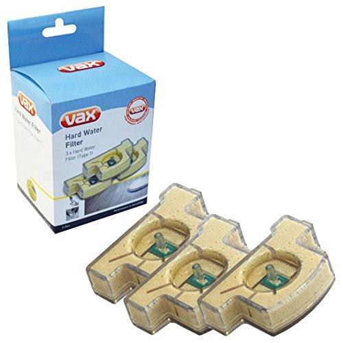Vax S2 per pulitrice a vapore rigida tipo 1 Cartuccia per filtro dell'acqua, confezione da 3 pezzi