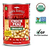 Dunya Harvest Organic Chick Peas, 13.5 Fluid Ounce (Pack of 12)