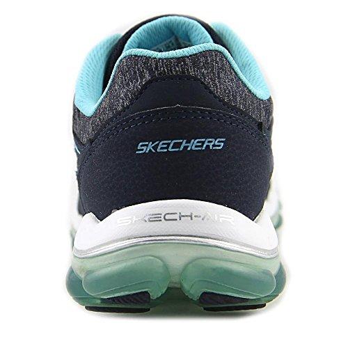 Skechers Sport Dames Skech Air 2.0 City Love Fashion Sneaker Marine / Lichtblauw