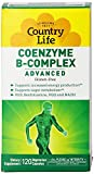 Cheap Country Life Coenzyme B Complex Advanced Capsules, 120 Count