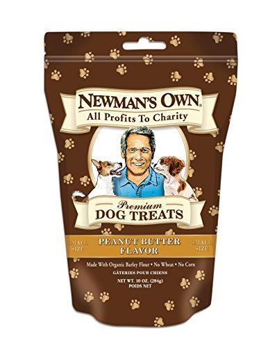 Newman's Own Premium Dog Treats, Peanut Butter, Small Size,