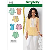 Simplicity 1461 Women's Top Collection Sewing