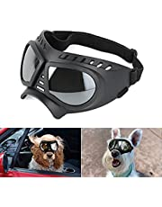 Namsan Dog Goggles Small Breed UV Dog Glasses Windproof Doggy Sunglasses Puppy Eyewear for Long Snout Tiny Dogs, Soft Frame