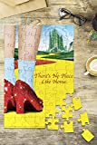 The Wizard of Oz - Yellow Brick Road and Red Shoes (8x12 Premium Acrylic Puzzle, 63 Pieces)