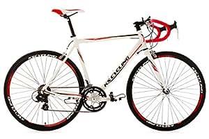"KS Cycling  Rennrad Alu 28 "" Euphoria RH 58 cm, Blanco, Tamaño del cuadro: 58 cm, Tamaño de la rueda: 28 "" (71 cm), 331B"