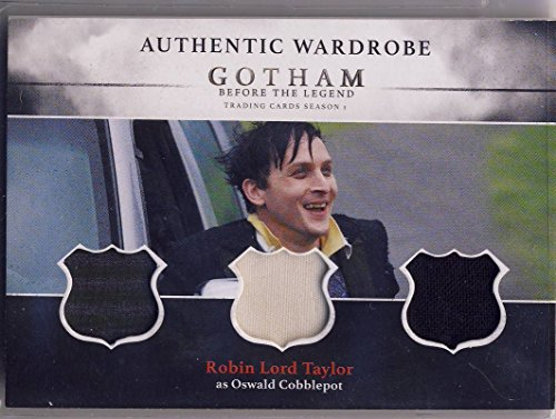 2016 Gotham Before the Legend Season 1 Trading Cards Triple Wardrobe Card TM3 Robin Lord Taylor as Oswald Cobblepot - Triple Wardrobe