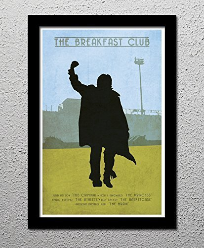 The Breakfast Club - Judd Nelson - Molly Ringwold - Original Minimalist Art Poster Print from CultClassicPosters