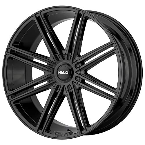Helo HE913 24x10 6x135/6x139.7  +30mm Gloss Black Wheel Rim