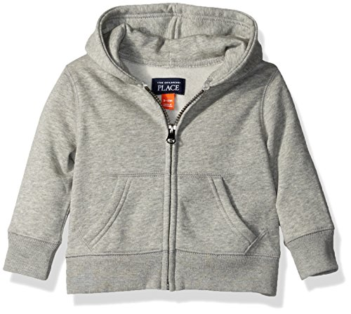The Children's Place Baby Boys' Gym Uniform Hoodie, Smokey, 9-12 Months