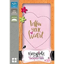 NIV Faithgirlz Backpack Bible, Compact, Leathersoft, Pink